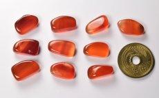 画像2: カーネリアン守護石 無料ポシェット付き K0035 (2)