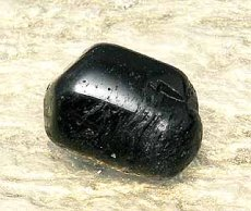 画像1: ブラックトルマリン守護石 無料ポシェット付き K0043 (1)