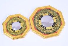 画像3: 風水 八卦羅盤凸面鏡 K0101 (3)