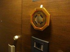画像6: 風水 八卦羅盤凸面鏡 K0101 (6)