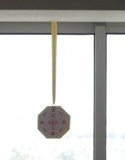 画像8: 風水 八卦羅盤凸面鏡 K0101 (8)