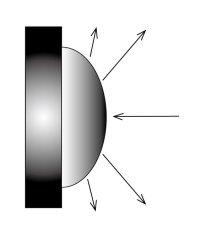 画像11: 風水 八卦羅盤凸面鏡 K0101 (11)