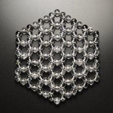 画像5: ヘキサゴン水晶浄化マット K0365 (5)