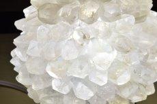 画像2: 水晶 マリモ型ランプ K0624 (2)