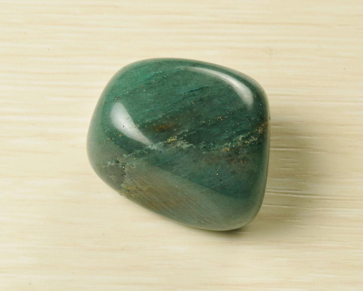 画像1: アベンチュリン守護石 無料ポシェット付き K0028 (1)
