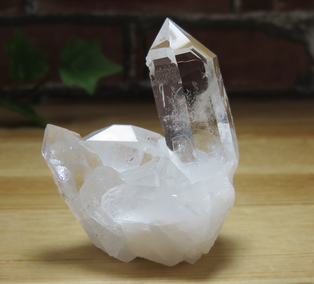 画像1: トマスゴンサガ産 水晶クラスター K0614 (1)