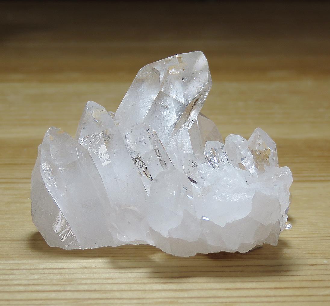 画像1: トマスゴンサガ産 水晶クラスター K0615 (1)